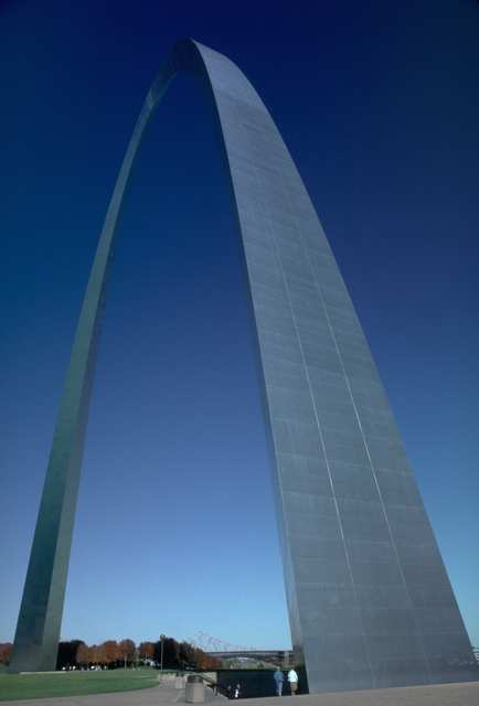 The arch in St. Louis Missouri, home to the Roman Catholic Archdiocese of St. Louis